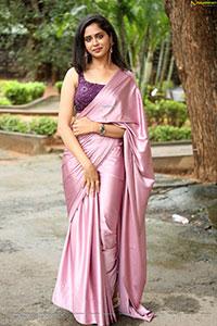 Dipali Sharma at Ooriki Utharana Teaser Launch