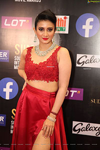 Harshika Poonacha at SIIMA Awards 2021