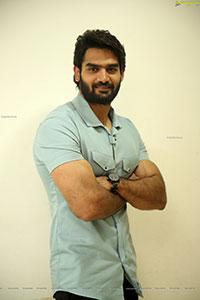 Kartikeya Stills at Raja Vikramarka Movie Teaser Launch