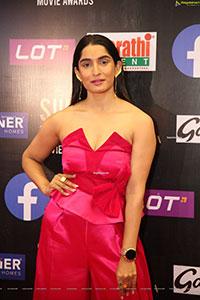 Krishi Thapanda at SIIMA Awards 2021