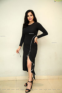 Kriti Garg at Neetho Movie Trailer Launch