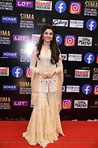 Krithi Shetty at SIIMA Awards 2021 Day 2