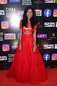 Madhu Priya at SIIMA Awards 2021 Day 2