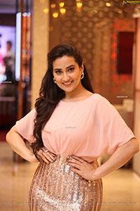 Manjusha at Guduputani Movie Pre-Release Event
