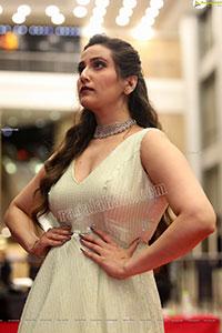 Anchor Manjusha at SIIMA Awards 2021 Day 2