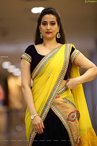 Manjusha at Tuck Jagadish Movie Trailer Launch
