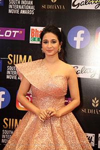 Manvitha Kamat at SIIMA Awards 2021
