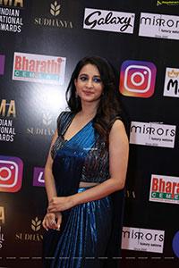 Manvitha Kamat at SIIMA Awards 2021 Day 2
