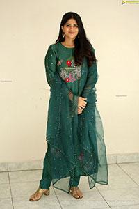 Megha Akash at Dear Megha Movie Thanks Meet