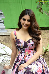 Nabha Natesh Stills at Maestro Movie Interview