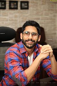 Naga Chaitanya Stills at Love Story Movie Interview