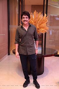 King Nagarjuna at Love Story Success Meet