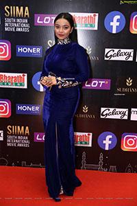 Nithya Shetty at SIIMA Awards 2021 Day 2