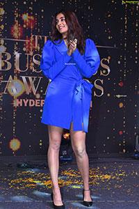 Pooja Hegde at Times Business Awards Hyderabad