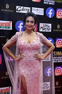 Prajna at SIIMA Awards 2021 Day 2
