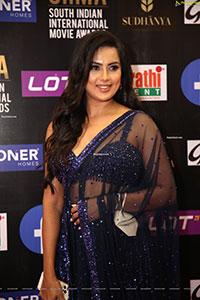 Prajna at SIIMA Awards 2021