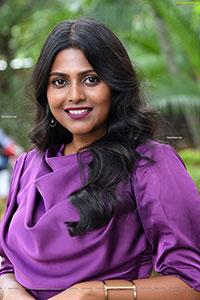 Praneeta Prateek Stills at NET Zee5 Originals Press Meet