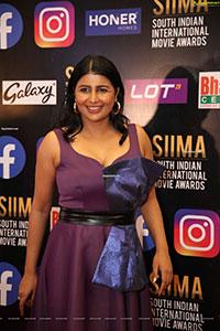 Rajshri Ponnappa at SIIMA Awards 2021