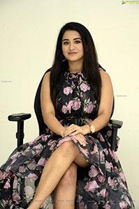 Rashi Singh Stills at Gem Movie Press Meet