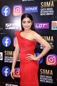 Rashmika Mandanna At SIIMA Awards 2021