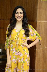 Ritu Varma at Tuck Jagadish Movie Interview
