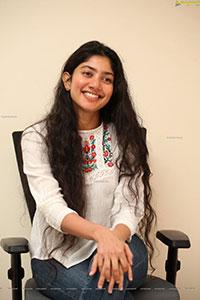 Sai Pallavi at Love Story Movie Interview