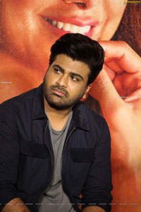 Sharwanand at Maha Samudram Movie Trailer Launch