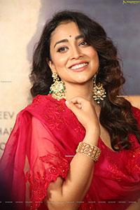 Shriya Saran Stills at Gamanam Movie Press Meet