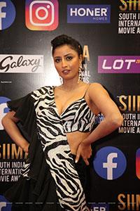 Shubha Raksha at SIIMA Awards 2021