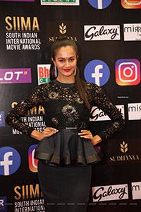 Shubra Aiyappa at SIIMA Awards 2021