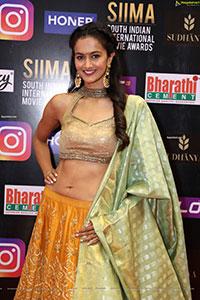 Shubra Aiyappa at SIIMA Awards 2021 Day 2