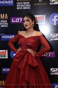Sonika Gowda at SIIMA Awards 2021 Day 2