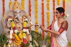 Sony Charishta Vinayaka Chavithi Special Photoshoot
