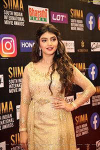 Sreeleela at SIIMA Awards 2021