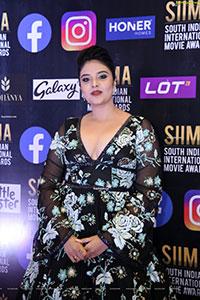 Sreemukhi at At SIIMA Awards 2021