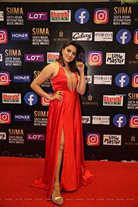 Sukrutha Wangle At SIIMA Awards 2021