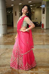Supraja Reddy in Pink Lehenga Choli
