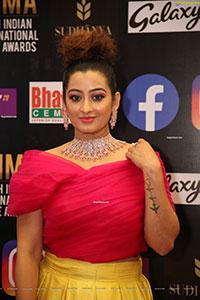 Tejaswini Prakash at SIIMA Awards 2021