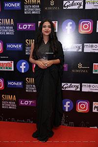 Varsha Bollamma at SIIMA Awards 2021 Day 2
