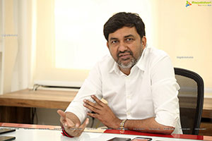 Producer Vishnuvardhan Induri Stills at Thalaivii Interview
