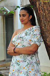 Rushika Raj at Asmee Movie Press Meet