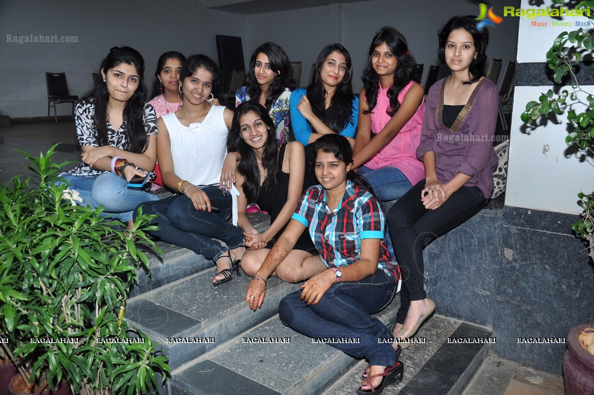 Princess of AP 2012 Beauty Contest Press Meet