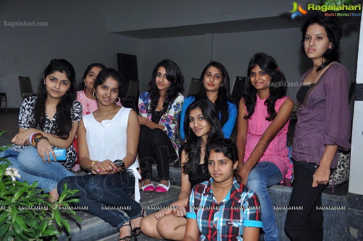 Princess of AP 2012 Beauty Contest Press Meet