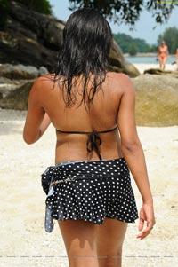 Tashu Kaushik Beach Mini Skirt
