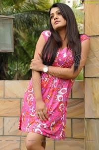 Tashu Kaushik in Short Gown