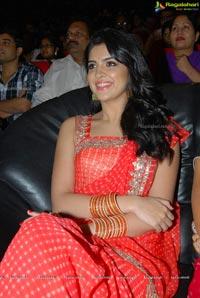 Deeksha Seth Orange Saree