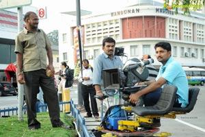 Vera Film Corporation Telugabbayi Working Stills