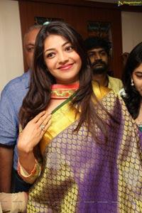 Kajal @Sareeniketan Showroom Launch