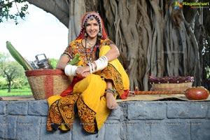 Lakshmi Manchu in Lambadi Dress