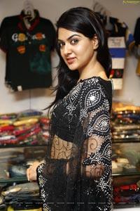 Sakshi Chowdary at Kalamandir Store, Hyderabad
